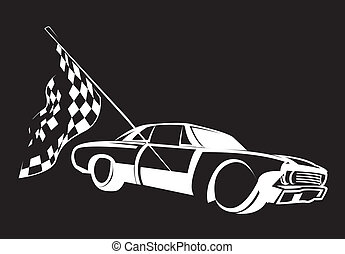 מירוץ של מכונית