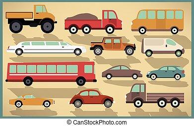 מכוניות, אוסף