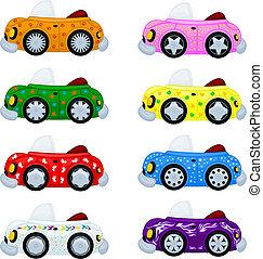מכוניות, ציור היתולי