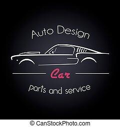 מכונית, חברה, עצב, לוגו