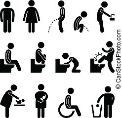 מכשול, שרותים, חדר אמבטיה, בהריון