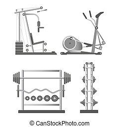 מכשירים, לאלף, קבע, עמוד, משקלות, דוגמות