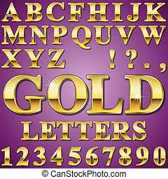 מכתבים, זהב