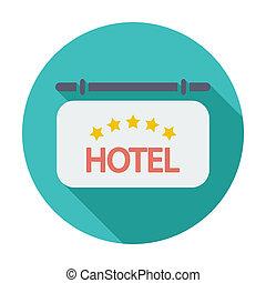 מלון, איקון