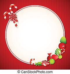 ממתק, כרטיס של חג ההמולד