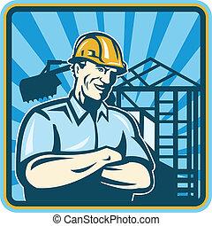 מנהל עבודה, עובד של בניה, הנדס