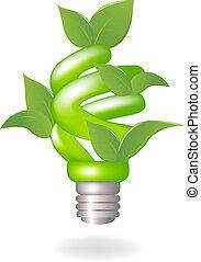 מנורה, ירוק