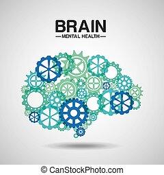 מנטלי, עצב, בריאות