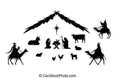 מסורתי, חג המולד, scene.