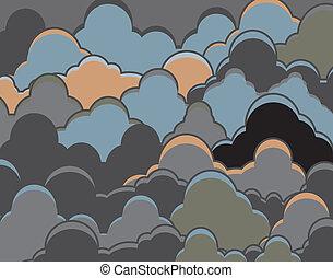 מעונן, רקע