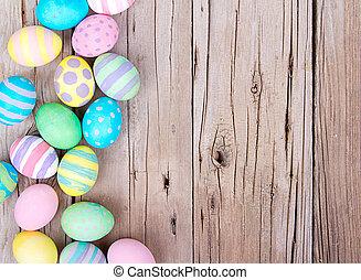מעץ, ביצים, חג הפסחה, רקע