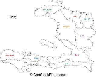 מפה, האיטי, תאר