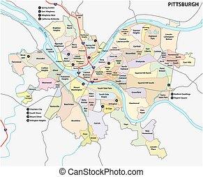 מפה, פיטסבורג, שכונה
