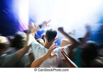 מפלגה., הופעה, מוסיקה של דיסקוטק, אנשים