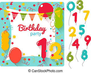מפלגה, יום הולדת, הזמנה