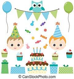 מפלגה, יום הולדת, קבע