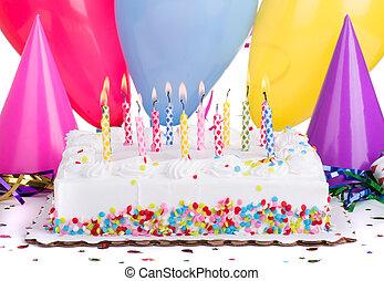 מפלגה של יום ההולדת, עוגה