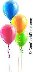 מפלגה, balloon, יום הולדת, קבע