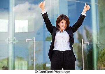 מצליח, עסק של אישה