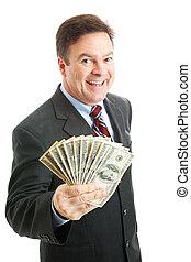 מצליח, עשיר, איש עסקים