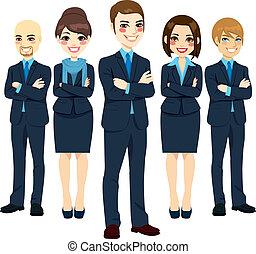 מצליח, צוות של עסק