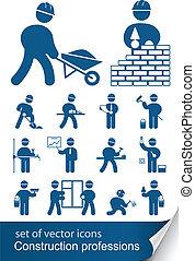 מקצועות, בניה