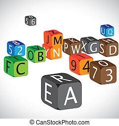 מקרה, ספרות, השתמש, שפה, צבעוני, קוביות, אנגלית, דוגמה, numbers., עשה, אותיות, בירה, אלפביתים, למד, ילדים