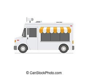משאית, אוכל