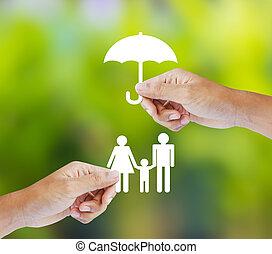 משפחה, מושג, ביטוח