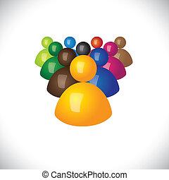 משרד, פוליטי, graphic., חברים, קהילה, סימנים, צוות, &, מנצח, -, התחבר, גם, חסידים, מנהיג, 3d, צבעוני, דוגמה, הנהגה, מציג, זה, עובדים, איקונים, או, וקטור, מפסידנים