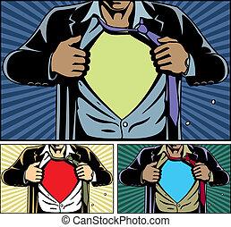מתחת, סופרגיבור, כסה