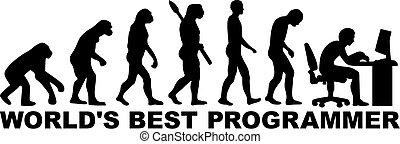 מתכנת, אבולוציה