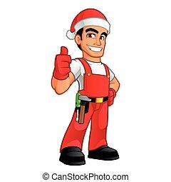 מתקן כל דבר, חג המולד
