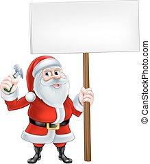 מתקן כל דבר, סנטה, חתום