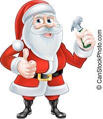 מתקן כל דבר, סנטה