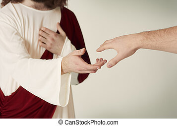 נאמן, להגיע, לחסוך, העבר, ישו
