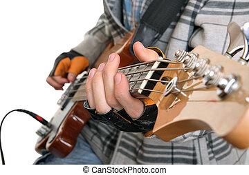 נדנד, ידיים, מוסיקאי