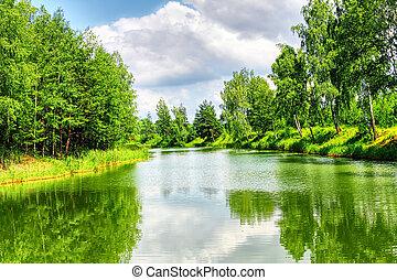 נוף ירוק, טבע