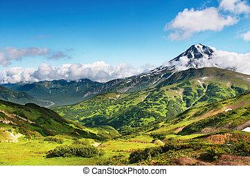 נוף של הר