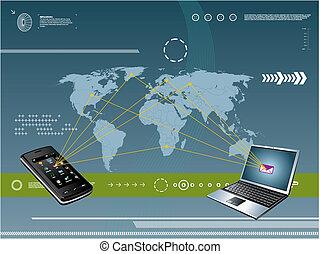 נייד, טכנולוגיה, רקע