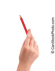 נייר, העבר, כתוב, לכתוב