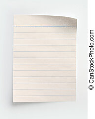 נייר, מחברת, לינאד