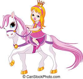 נסיכה קטנה, סוס