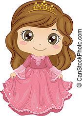 נסיכה, תלבושת