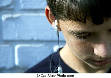נער, אהוב, הקשב, שיר