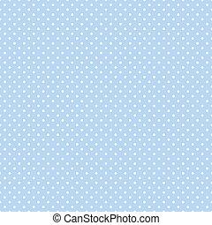 נקודות, כחול, פסטל, seamless, פולקה