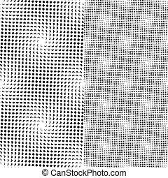 נקודות, תבנית, seamless, (vector)
