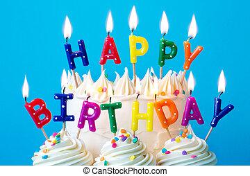 נרות, יום הולדת שמח