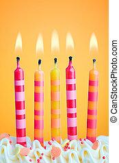 נרות, יום הולדת