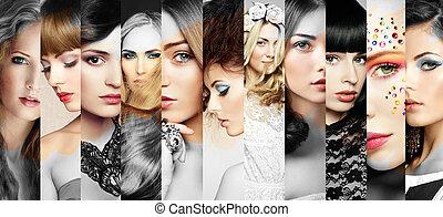נשים יפות, פנים, קולז'
